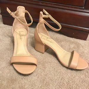Nude/Pink Lulu's Heels